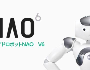 ヒューマノイドロボットNAO V6